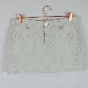 Tommy Jeans Hilfiger Mini Skirt Khaki